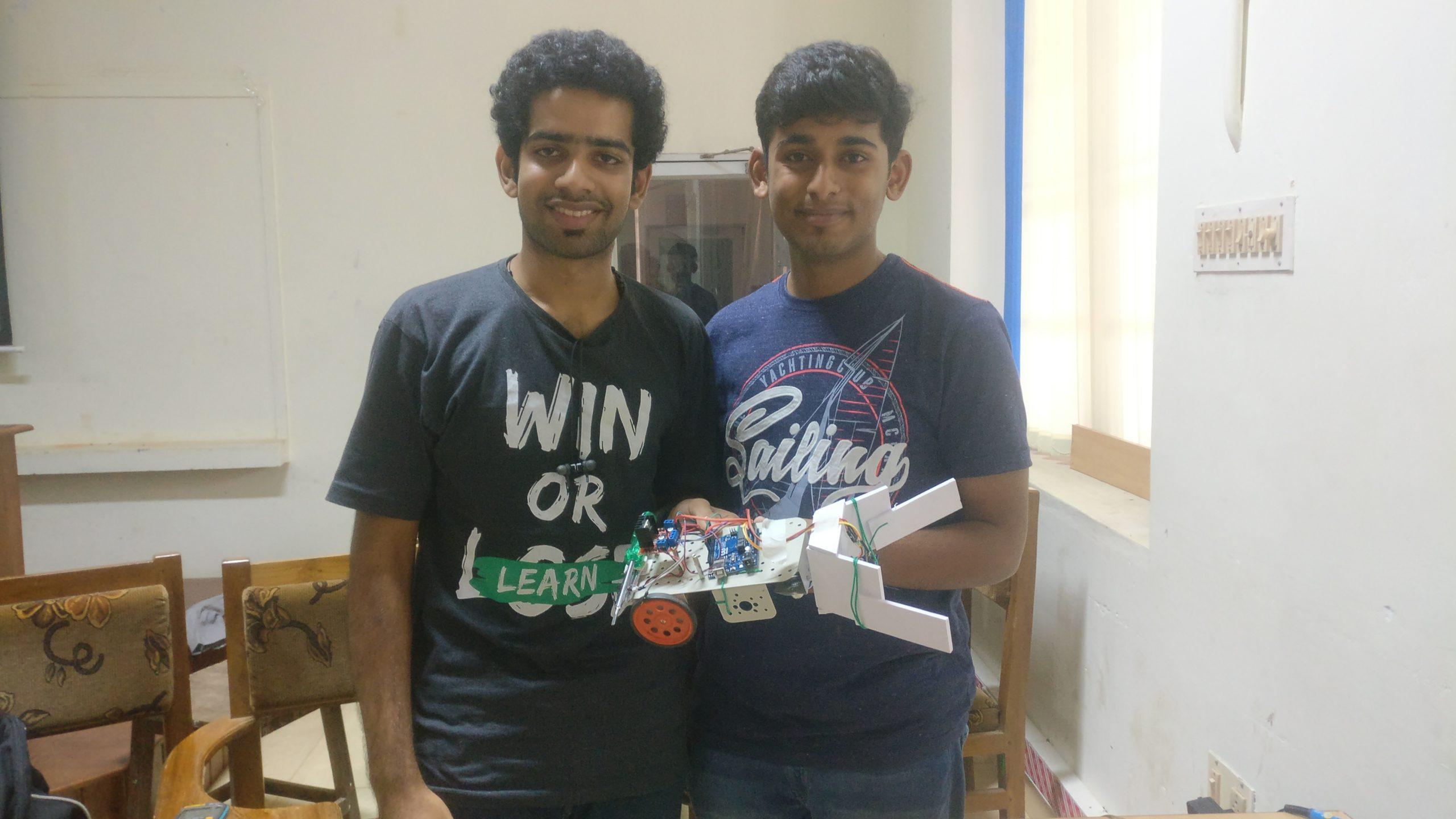 Dhrishti Hackathon at CET