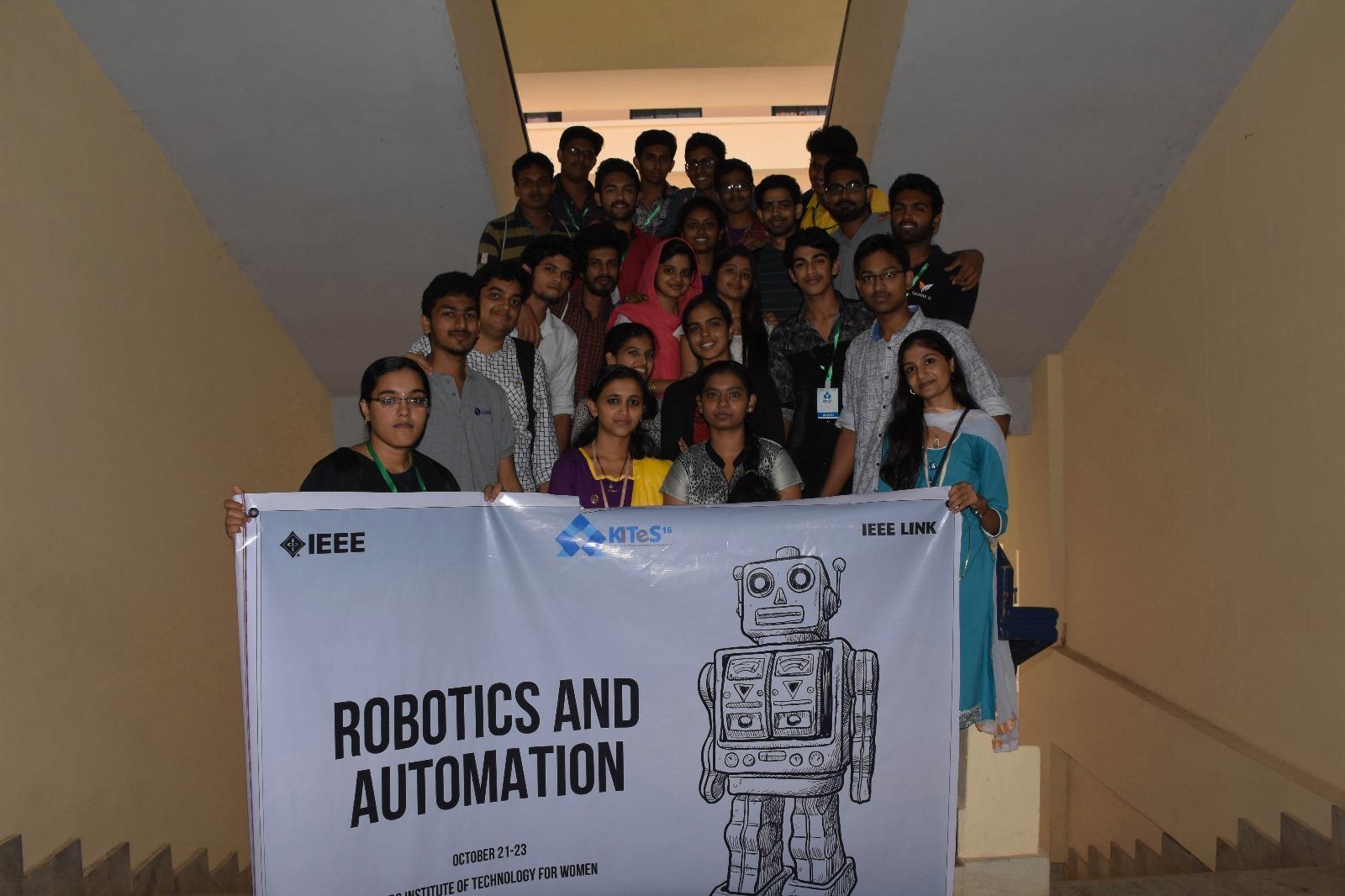 IEEE robotics workshop at IBS college