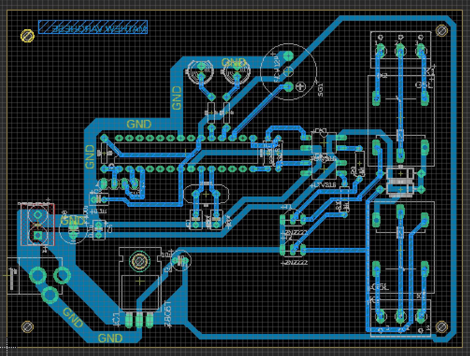 GSM motor controller